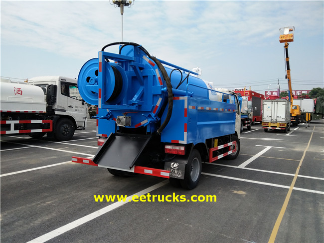 Sewage Suction Tankers