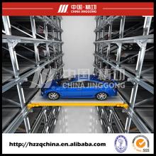 Sistema de estacionamiento de automóviles altamente técnico automatizado y elevación