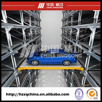 Elevadores de vagones telescópicos transversales altamente técnicos con sistema automatizado de aparcamiento ideal