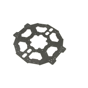 Carbon fiber plate with different shapes