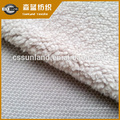 100 polyester sherpa fleece fabric for winter hoodie