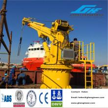 Hydraulic Telescopic or Articulated Jib Boom Quay Crane