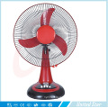 12′′ 16′′ DC Solar Rechargeable Plastic Table Fan