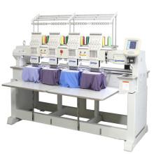 Machine à grande vitesse de broderie d'ordinateur de 4 têtes avec le CE de 9 couleurs et la certification de GV