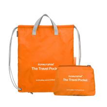 lightweight custom Folding tote Bag Basketball Sport Bag reusable folding shopping bags for men women