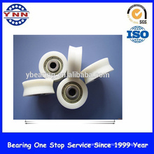 Plastic V Groove Ball Bearings (for windows doors bath room tables)