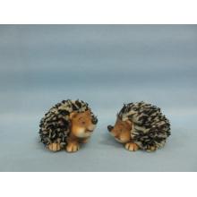 Hedgehog forma de artesanía de cerámica (LOE2532-C7)