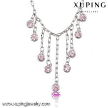 74565-gros cheville de bijoux de mode, bijoux de cheville chunky, cheville de cristal de design de mode