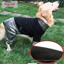 HeatPaw chaleur réfléchissante chien vêtements réversible polaire grand chien veste vêtements pour animaux de compagnie chien