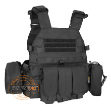 Plate Carrier Vest,Tactical Vest Chest,Tactical Vest With Magazine Pouch for outdoor sports hunting military
