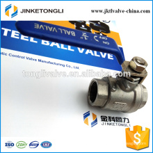 JKTL2B016 manufacture 2 piece gas rb pn40 cast iron small ball valve