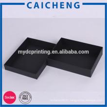 Cardboard box packaging for silk scarf packaging