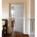Puertas interiores de madera con acabado en laca blanca CE