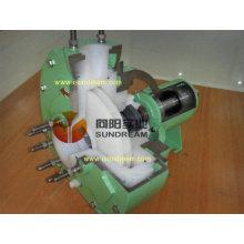 Chine célèbre pompe à process chimique standard pour les solutions corrosives