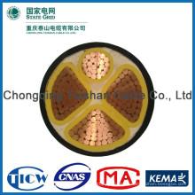 Хорошее качество PVC / XLPE Материал Силовой кабель xlpe 24kv