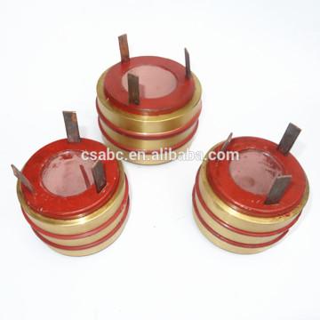porte-balais en carbone utilisé dans la bague collectrice