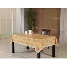PVC Embossed Tablecloth with Flannel Backing (TJG0105A)