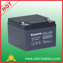 Electric Bike Battery 24ah 12V Deep Cycle Gel Battery