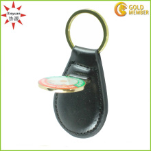 Zhongshan Promotional Leather Keychain with Low Price