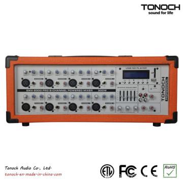 Emx8300ub 300 Watt RMS 8-Channel PRO Audio Powered DJ Mixer
