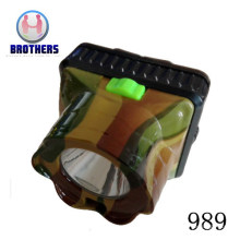 Plastic 3AA LED Outdoor Headlamp with Laser