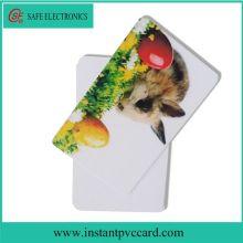 Low price blank inkjet pvc card