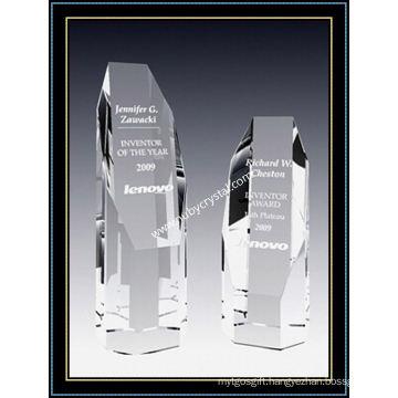 Empire Tower Award Crystal 4 Inch Tall (NU-CW769)