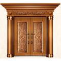 Luxury Imitate brass exterior doors for homes