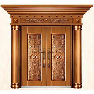 Luxus Imitieren Messing Außentüren für Häuser