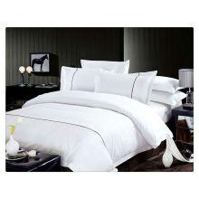 200-400T 100% ägyptische Baumwoll-Satin-Streifen-Bettbezug