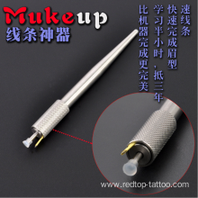 Tattoo Manual Microblading Pen Stainless Steel