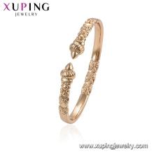 52044 xuping Элегантные золотые браслеты из сплава для женщин ювелирные изделия браслет