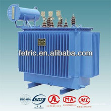 Three phase oil type copper winding low noise 3000kva transformer
