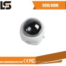 Fabricante de la carcasa de la cámara CCTV de fundición a presión de aleación de aluminio