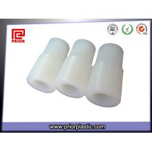 Parte plástica do OEM do nylon com parafuso da linha