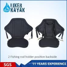 Asiento suave para kayak con bolsa en la parte trasera