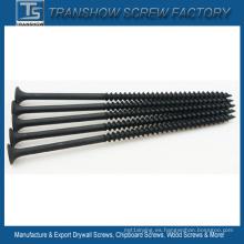 4.8 * 100 tornillos de yeso fosfatados negros