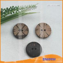 Natural botões de coco para vestuário BN8099