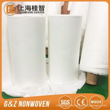 weiße organische Bambus Stoff Vlies große Stoffrollen