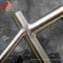 2018 haute qualité haute résistance Gr9 vélo cadre titane tube