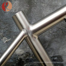 2018 high quality high strength Gr9 bike frame titanium tube