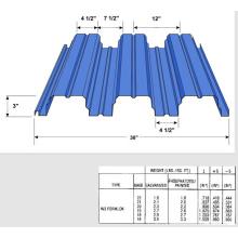Floor Decking Sheet Roll Forming Machine