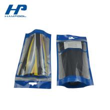 Petit sac de serrure de fermeture éclair en plastique imprimé par coutume pour des pièces d'isolation
