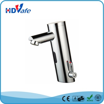 Solid High Quality Hot Cold Water Basin Sink Automatic Mixer Tap for bathroom