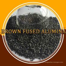 papel de lija de pulido alúmina fundida marrón
