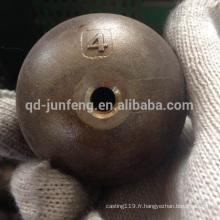 balle d'acier de moulage de précision avec le trou