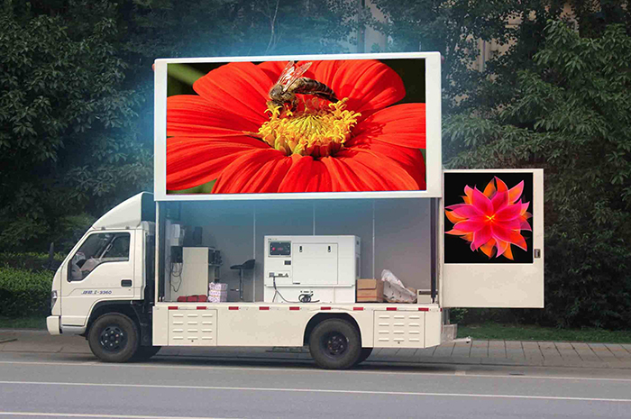 Mobile LED screen