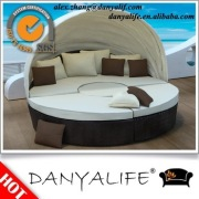 DYBED-D2213 Danyalife Round Luxury Daybed with Canopy