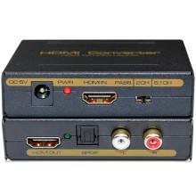 HDMI vers HDMI + Spdif + RCA L / R Audio Converter