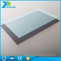 Materiales para techos de policarbonato anti-UV láminas de acrílico de plástico precios baratos